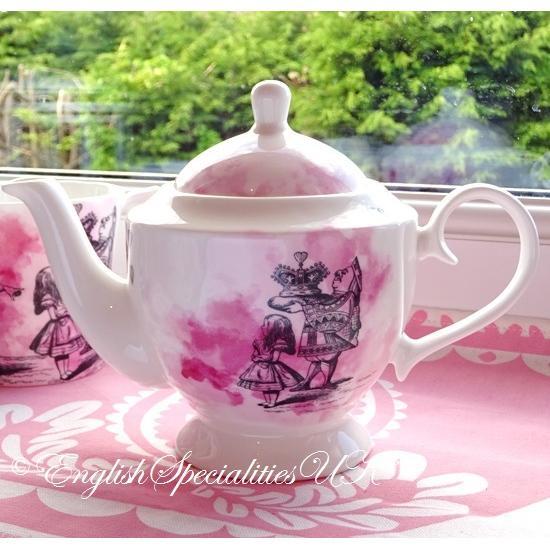 【Whittard】ALICE IN WONDERLAND Queen of Hearts  Teapotウィタード 不思議の国のアリス ハートの女王ティーポッ…