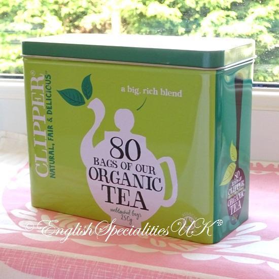 【Clipper】 Organic Tea in Caddyクリ...