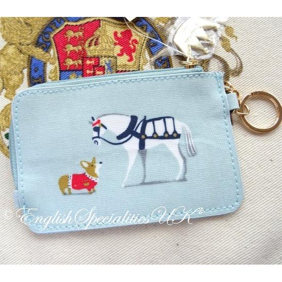 【Royal Collection】Royal Carriage ID Purseバッキンガム宮殿 ロイヤルキャリッジ IDパース