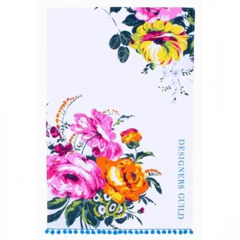【Ulster Weavers】Designers Guild Amrapali Peony Tea Towel<br>アルスターウィーバー  デザイナーズギルド アムラパリ ピオニー  ティータオル