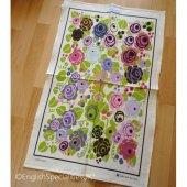 【McCAW ALLAN】Julie Dodsworth Floral Romance Tea Towel<br>ジュリー・ドッズワース フローラルロマンス ティータオル