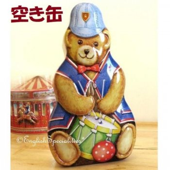 <img class='new_mark_img1' src='https://img.shop-pro.jp/img/new/icons20.gif' style='border:none;display:inline;margin:0px;padding:0px;width:auto;' />★Sale!【Churchill's】 Sweet Teddy *EMPTY TIN*<br>チャーチル テディ缶 空き缶 (缶のみ)