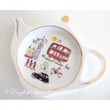 【JAMES SADLER】London Travel Tea Bag Tidy <br>ジェームスサドラー ロンドントラベル ティーバッグタイディー