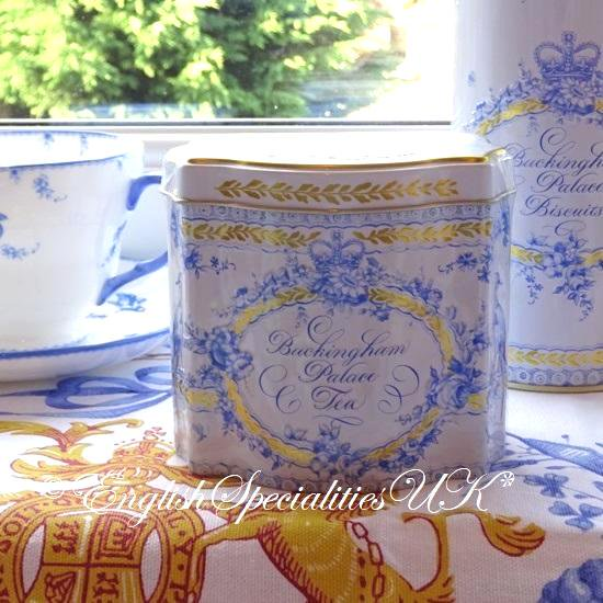 【The Royal Collection】ROYAL BIRDSONG Teabags Caddyバッキンガム宮殿 ロイヤルバードソング ティーキャディー