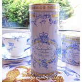 【Royal Collection】ROYAL BIRDSONG Chocolate Chip Biscuits<br>バッキンガム宮殿 ロイヤルバードソング チョコレートチップビスケット チューブ缶