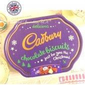 【Cadbury】Chocolate Biscuits Collection Tin Xmas Treeキャドバリー チョコレートビスケットコレクション缶 クリスマスツリー