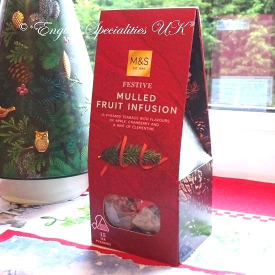 【M&S】Mulled Fruit Teaマークス&スペンサー モールドフルーツティー15ティーバッグ