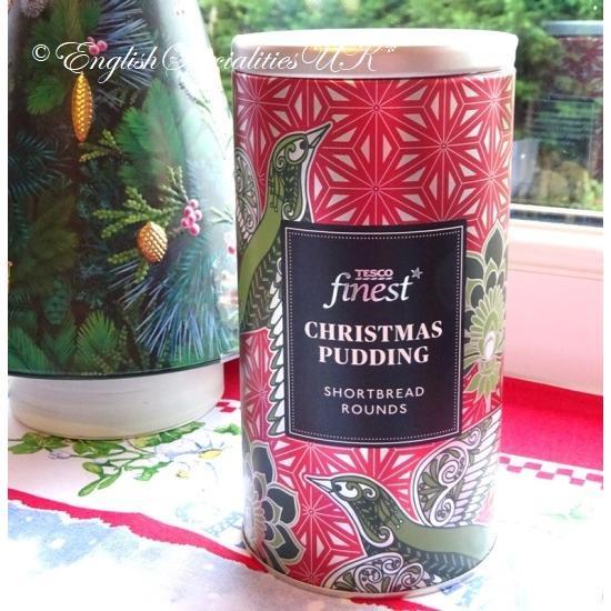 【TESCO】Christmas Pudding Shortbread...