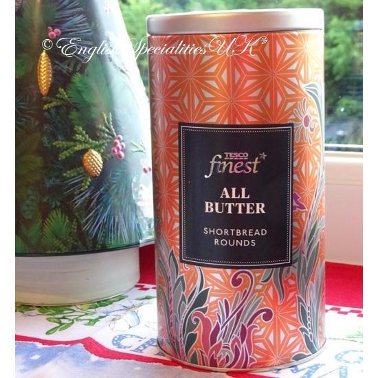 【TESCO】All Butter Shortbread Tinテスコ  オールバター ショートブレッド缶
