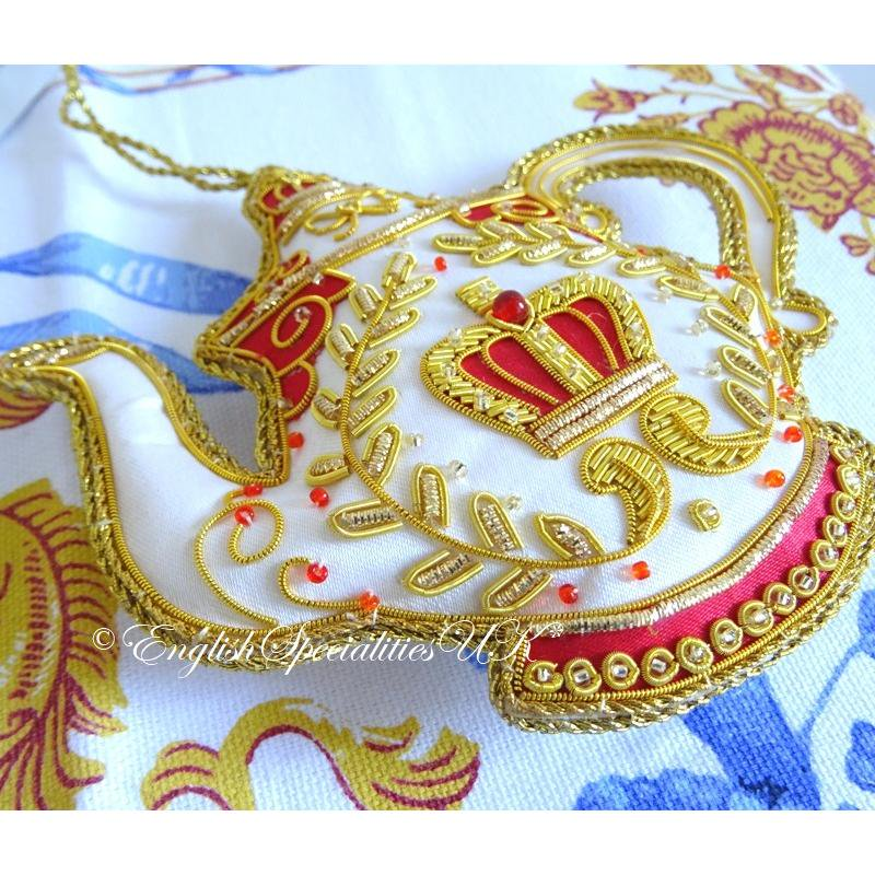 【The Royal Collection】BUCKINGHAM PALACE TEAPOT DECORATIONバッキンガム宮殿 ティーポットデコレーシ…