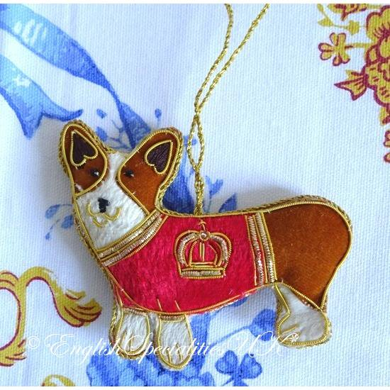 【The Royal Collection】BUCKINGHAM PALACE CORGI DECORATIONバッキンガム宮殿 コーギー デコレーション