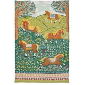 【Ulster Weavers】HILLS & TAILS Linen Tea Towel<br>アルスターウィーバー ヒルズ&テイルズ リネンティータオル