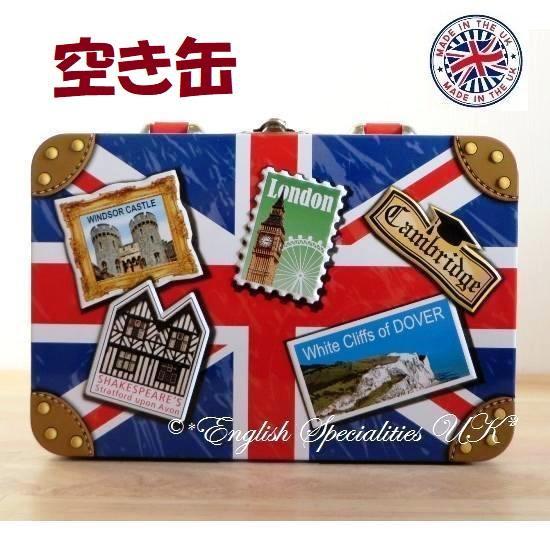 【Churchill's】Union Jack Suitcase TI...
