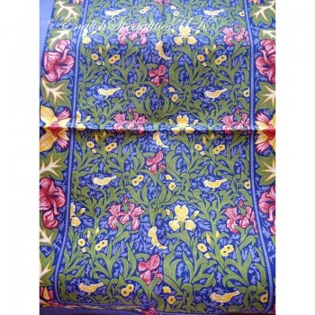 【Ulster Weavers】BIRDS & IRIS  Linen Tea Towel<br>アルスターウィーバー バーズ&アイリス リネンティータオル