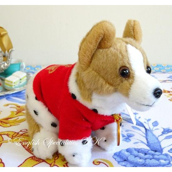 【The Royal Collection】BUCKINGHAM PALACE RED CORGI KEYRINGバッキンガム宮殿 コーギーキーリング レッド