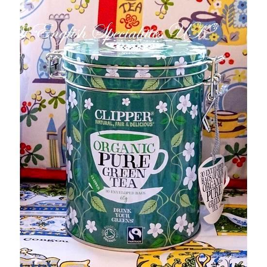 【Clipper】 Organic GREEN TEA Teabags...