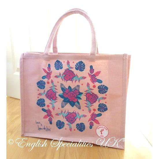 【ASDA】Tickled Pink  Eco Bag Rose Pa...