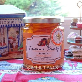 <img class='new_mark_img1' src='https://img.shop-pro.jp/img/new/icons53.gif' style='border:none;display:inline;margin:0px;padding:0px;width:auto;' />【Season's Bounty】Seville Marmalade with Malt Whisky <br>シーズンズ・バウンティ セヴィル マーマレード ウイズ モルトウイスキー