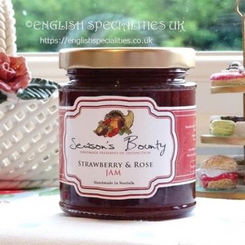 <img class='new_mark_img1' src='https://img.shop-pro.jp/img/new/icons58.gif' style='border:none;display:inline;margin:0px;padding:0px;width:auto;' />【Season's Bounty】Strawberry & Rose Jam<br>シーズンズ・バウンティ ストロベリー&ローズジャム