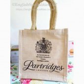 【PARTRIDGES】Jute Mini Bag<br>パートリッジズ ジュート ミニエコバッグ