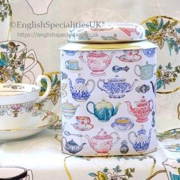 Deborah Pope - Teapot Caddy &  Teabags<br>デボラ・ポープ ティーポットキャディー& &イングリッシュティーバッグ紅茶