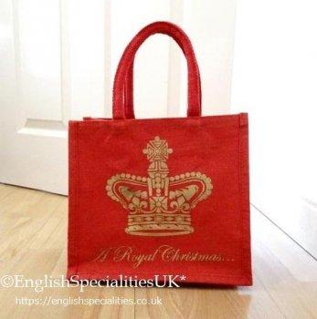【Royal Collection】Buckingham Palace Small Christmas Juco Bag<br>バッキンガム宮殿 クリスマス ジューコ エコバッグ スモール