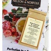 【Nelson & Norfolk Tea】Elderflower & Lemon Fruit Infusion - Loose<br>ネルソン&ノーフォーク エルダーフラワー&レモン ルーズティー