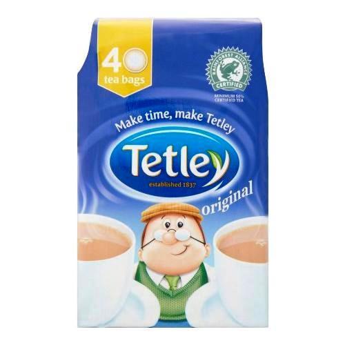 【Tetley】 40 Teabagsテトリー 紅茶 : 40 ティーバッグ