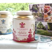 【HIGHGROVE】Organic Garden Berries Infusion Teabags Caddy<br>ハイグローブ ガーデンベリーインフュージョン ティーバッグ キャディー缶