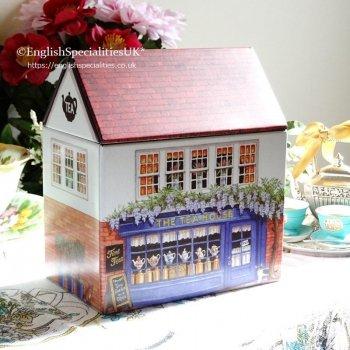 TEA HOUSE Tea Caddy &Teabags<br>ティーハウス ティーキャディー&イングリッシュティーバッグ紅茶