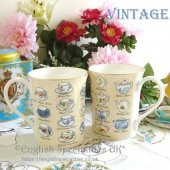 <img class='new_mark_img1' src='https://img.shop-pro.jp/img/new/icons47.gif' style='border:none;display:inline;margin:0px;padding:0px;width:auto;' />【Ringtons】 Set of 2 mugs<BR>リントンズ ヘリテージコレクション ヴィンテージ マグ2個セット(No.10)
