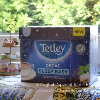 【Tetley】Decaf Sleep Easy Teabags <br>テトリー 紅茶 デカフェ スリープイージー ティーバッグ