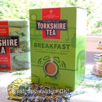 【Yorkshire Tea】Breakfast  Brew Teabags<br>ヨークシャー紅茶 ブレックファースト ブリューティーバッグ