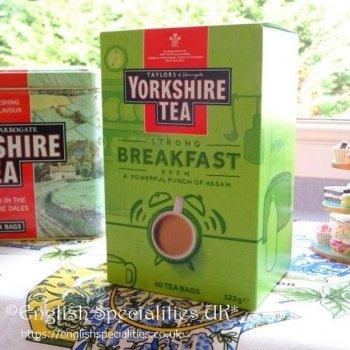 【Yorkshire Tea】Breakfast  Brew Teabags<br>ヨークシャー紅茶 ブレックファースト ブリューティーバッグ