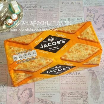 【Jacob's】 Cream Crackers<br>ジェイコブス(ヤコブ) クリームクラッカー