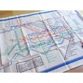 London Underground Map Tea Towel<br>ロンドン アンダーグラウンド マップ ティータオル