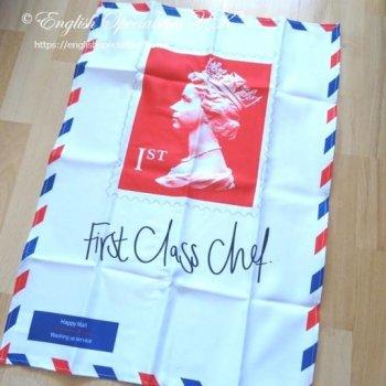First Class Chef Stamp TEA TOWEL <br> ファーストクラスシェフ スタンプ ティータオル(ボックス入り)