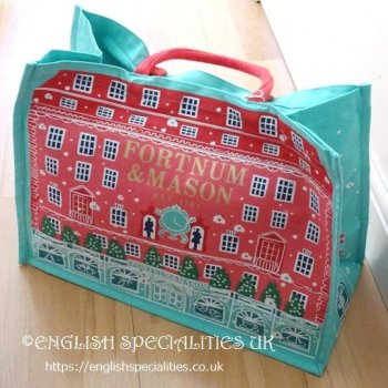 <img class='new_mark_img1' src='https://img.shop-pro.jp/img/new/icons15.gif' style='border:none;display:inline;margin:0px;padding:0px;width:auto;' />【F&M】Christmas Piccadilly Eco Bag<br>フォートナム&メイソン クリスマス ピカデリー エコバッグ