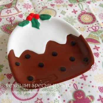<img class='new_mark_img1' src='https://img.shop-pro.jp/img/new/icons53.gif' style='border:none;display:inline;margin:0px;padding:0px;width:auto;' />Christmas Pudding Teabag Rest <br>クリスマスプディング ティーバッグレスト