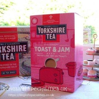 【Yorkshire Tea】Toast & Jam  Brew Teabags<br>ヨークシャーティー トースト&ジャムブリュー ティーバッグ