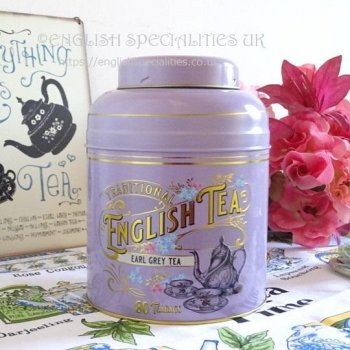 <img class='new_mark_img1' src='https://img.shop-pro.jp/img/new/icons15.gif' style='border:none;display:inline;margin:0px;padding:0px;width:auto;' />【New English Teas】LAVENDER Victorian Earl Grey 80 Teabags<br>ニューイングリッシュティーズ ヴィクトリアン ラベンダー缶