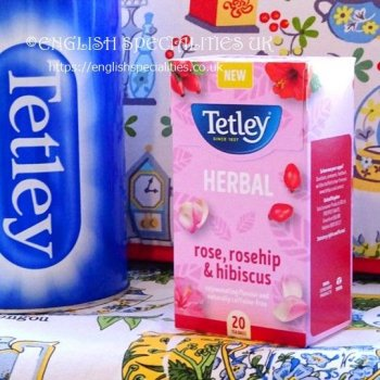 <img class='new_mark_img1' src='https://img.shop-pro.jp/img/new/icons15.gif' style='border:none;display:inline;margin:0px;padding:0px;width:auto;' />【Tetley】Herbal Rosehip & Hibiscus Tea<br>テトリー ハーバル ローズヒップ&ハイビスカスーティー