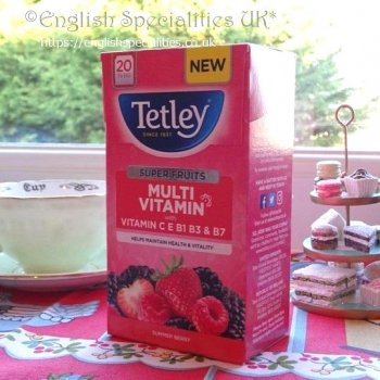 <img class='new_mark_img1' src='https://img.shop-pro.jp/img/new/icons15.gif' style='border:none;display:inline;margin:0px;padding:0px;width:auto;' />【Tetley】 Super Fruits Multi Vitamin Summer Berry Fruits Tea<br>テトリー スーパーフルーツ マルチビタミン サマーベリー フルーツティー