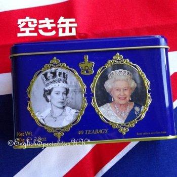<img class='new_mark_img1' src='https://img.shop-pro.jp/img/new/icons20.gif' style='border:none;display:inline;margin:0px;padding:0px;width:auto;' />◆小さな訳アリ *Empty Tin* 【New English Teas】Queen Elizabeth ll Tin <br>【空き缶】ニューイングリッシュティーズ エリザベス女王缶(缶のみ)