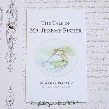 【ピーターラビット 】The Tale of Mr. Jeremy Fisher  ポストカード