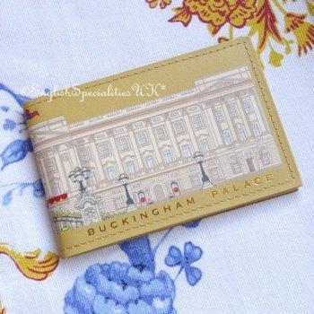【Royal Collection】Buckingham Palace Card Holder<br>バッキンガム宮殿 カードホルダー