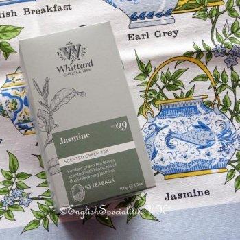 【Whittard】Jasmine Teabags<br>ウィッタード ジャスミンティー  50ティーバッグ