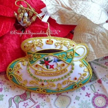 Royal Palace tea cup tree decoration<br>ロイヤルパレス ティーカップ ツリーデコレーション