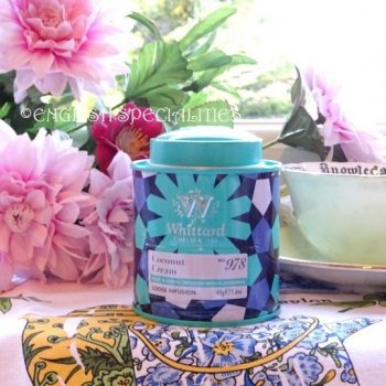 <img class='new_mark_img1' src='https://img.shop-pro.jp/img/new/icons15.gif' style='border:none;display:inline;margin:0px;padding:0px;width:auto;' />【Whittard】LOOSE Coconut Cream Infusion - SMALL Tin<br>ウィタード ココナッツクリームフルーツ&ハーブティー スモール缶