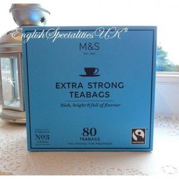 【M&S】Fairtrade ExtraStrong 80bags<br>マークス&スペンサー 紅茶 エクストラストロング:80バッグ